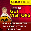 How to get visitors to your site